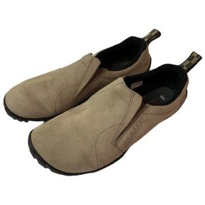 Merrell Jungle Glove Slip On Shoes Suede Taupe 8.5